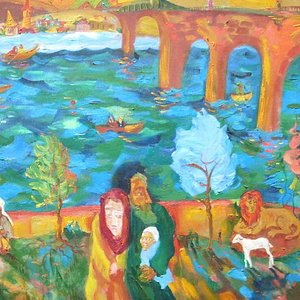 The River by G Vucsetics, courtesy Robert Kananaj Gallery website