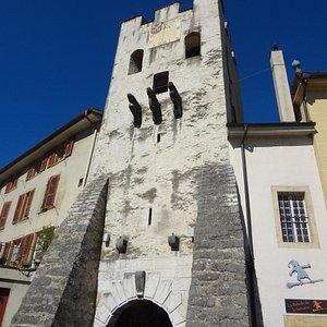 Tour de Rive à La Neuveville (vue sud)