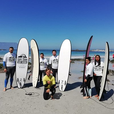 Cape Town Surf School 021 001 0378 www.capetownsurfschool.com