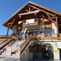 Extérieur Office de Tourisme de La Chal - Été