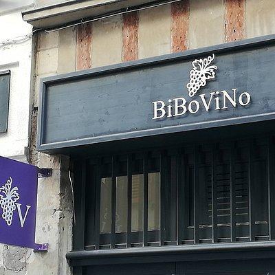 La façade BiBoViNo Bayonne