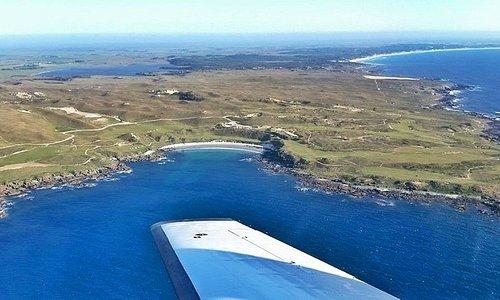 Cape Wickham aerial, King Island, Tasmania