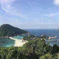 Uma das vistas mais bonitas da ilha