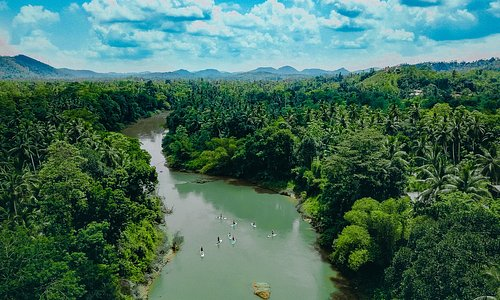 Meandering through The Kanneliya Rainforest with grade I/II rapids and jungle hills as the backdrop, the Gin Ganga is a true wild jungle river experience.