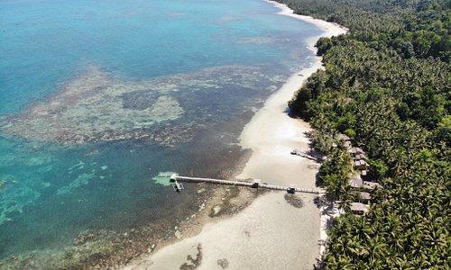 POKI POKI Resort -  Bomba, Southern Togians Islands! www.pokipoki.land @pokipokitogian