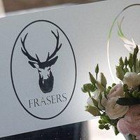 The Fraser family crest