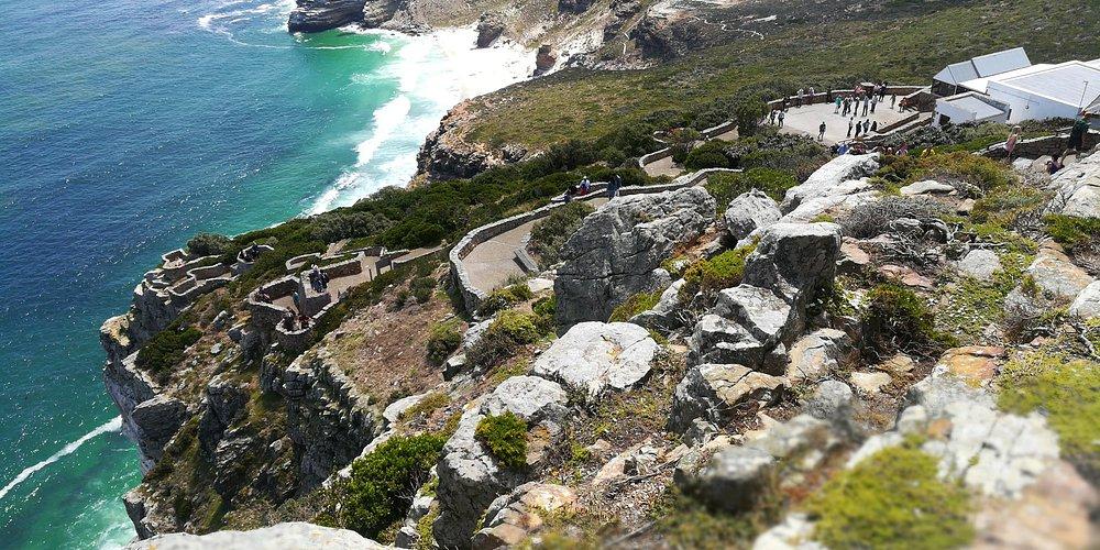 Blick auf das Kap der guten Hoffnung oben