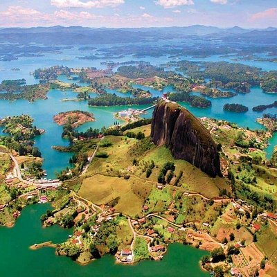 """There is more to see and experience beyond just Guatape. Do not make the mistake of only going here for the day and returning to Medellin. It is more efficient to take our """"Elements Tour"""" at BuffaloGlobalAdventures.com/colombia and experience the natural beauty of the """"Best Places"""" in central Colombia."""