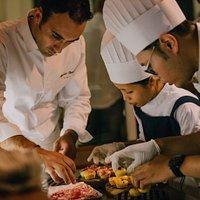 The Chef Maurizio Bombini