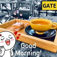 Good morning coffee @GATE 14
