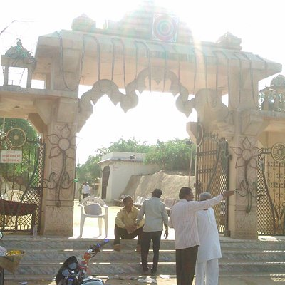 Entry gate to temple.From main road ie known as Padmanath chowk,the side road leads here.