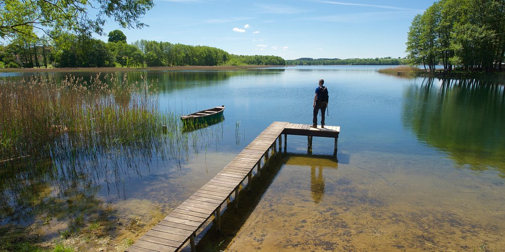 Wandern in Masuren, Aktivurlaub in Polen. Hiking in Masurian Lake District, active holidays in Poland with activeast-tours.com