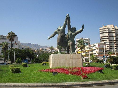 aan het plaza del lido
