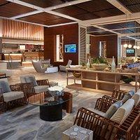 The Lobby Bar situated in the Great Room of Aruba Marriott Resort & Stellaris Casino
