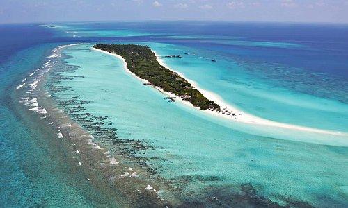 wunderbare reise auf das Lhaviyani Atoll auf der Resort Palm Beach Madhiriguraidhoo Island