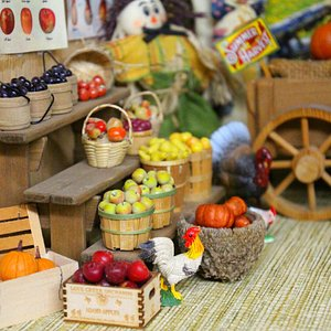 Fresh fruit and vegetables - country market