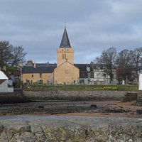 Dreel Halls from Anstruther Harbour