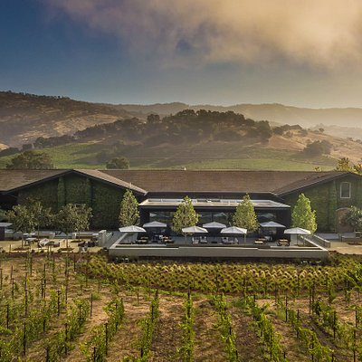 Clos Du Val is situated in the Stags Leap District right off the Silverado Trail.