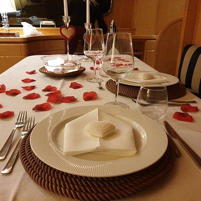 Le nostre cene romantiche !