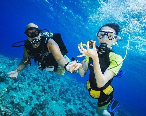 Explore the underwater world on SNUBA.