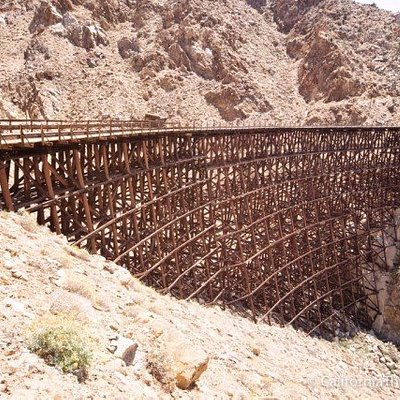 This amazing trestle is part of our Abandoned Trestles, Bridges and Tunnels Tour