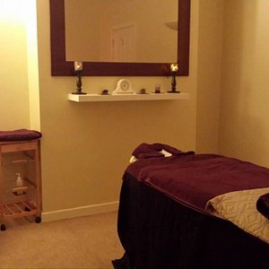 One of our relaxing therapy rooms