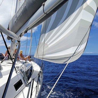 Jennaker sailing