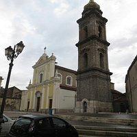 esterno della chiesa di Santa Croce, al cui interno è il sacello