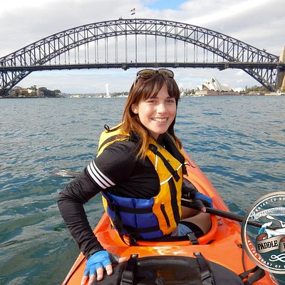 The best way to experience Sydney is from a sea kayak!