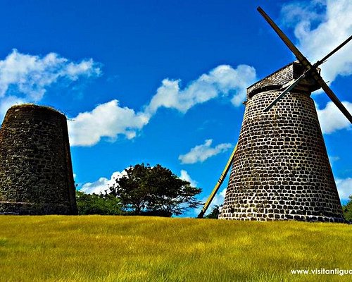 Betty's hope Antigua's historical sugar mills