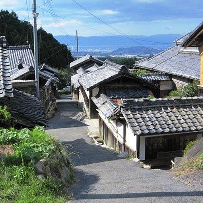 観音寺からはるか琵琶湖