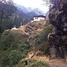 This hike  offers the rare chance to discover a secret world, explore ancient monasteries, and experience pristine Buddhist environment as it has existed since time immemorial. This Monastery also houses the divine mother, Dorji Phamo who is performing a cosmic dance on the air