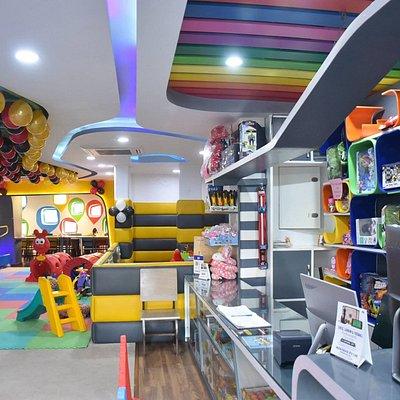 Bumble Boom Interior