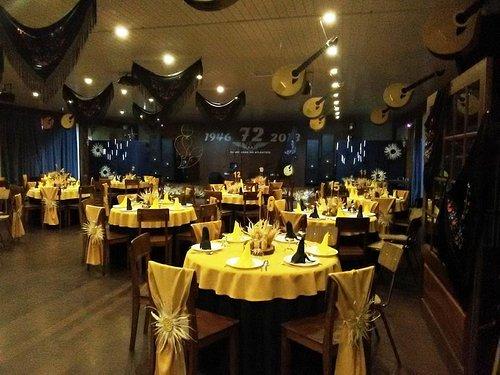 Salão de festas (noite temática S. Martinho)