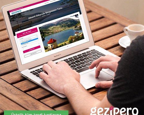 Turlarımızı incelemek ve online rezervasyon için web sayfamızı ziyaret edebilirsiniz.  Keşfetmek için Gezipero size yeter!  www.gezipero.com