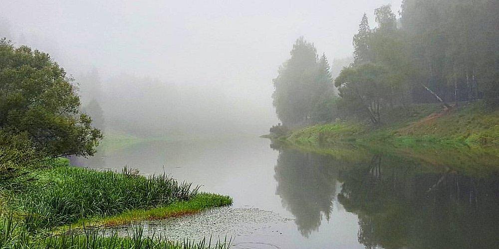 Утренний туман в Тучково