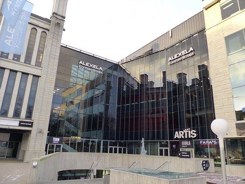 newly renamed Alexela concert hall