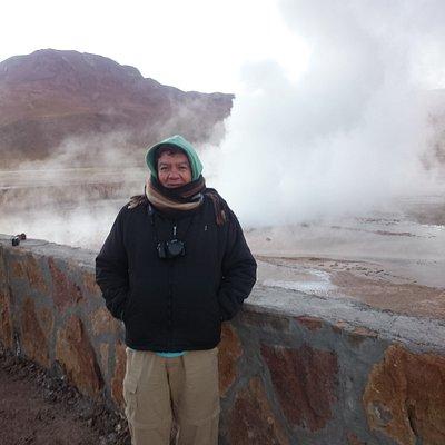 Taito Geyser en Valle de Atacama Chile