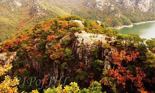 View from Oksunbong Peak
