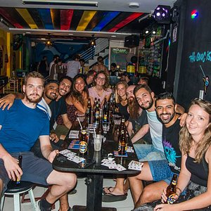 Group of Pub Crawl team
