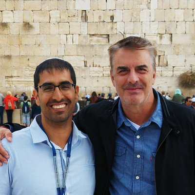 guiding Mr. BIG in Jerusalem!