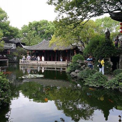 Tuisi garden in Tongli water town