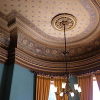 State Dining Room ceiling