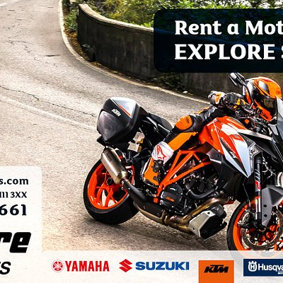 Rent a Motorcycle and Explore Scotland - Discover the large selection of motorcycles from a variety of brands!