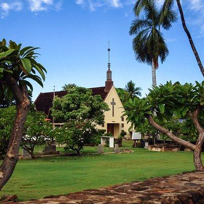 Waiola Church & Waiola Cemetery