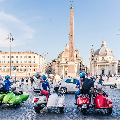 "Exceptional views of Rome's beauties. At Piazza del Popolo you can admire the ""Twin Churches"" as you sit right in front of what was the Ancient City's main entrance."
