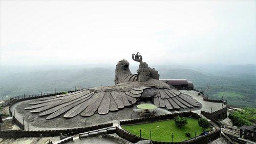Worlds Largest Bird Sculpture Jatayu
