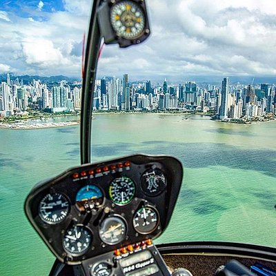 Panama City Helicopter Tour - From $178 USD per person