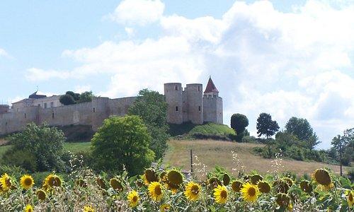 Vue du château coté nord