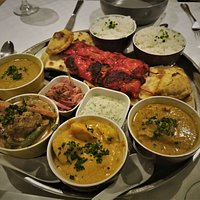 Indian platter - to die for!